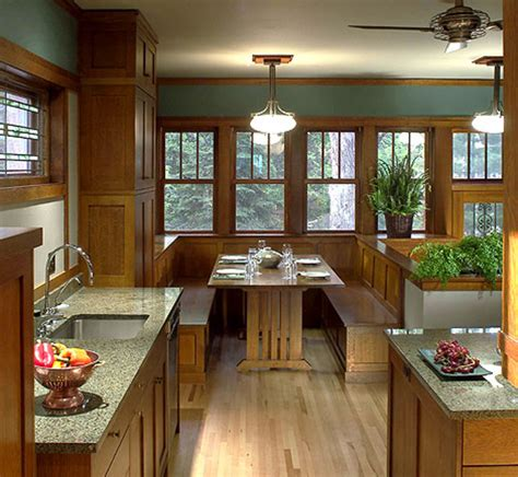 bungalow furnishings millwork in arts crafts style homes arts crafts