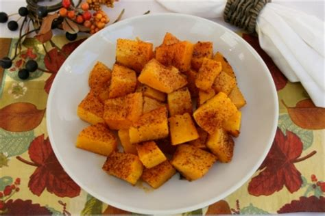carbohydrates butternut squash the diabetic skillet spiced roasted butternut squash