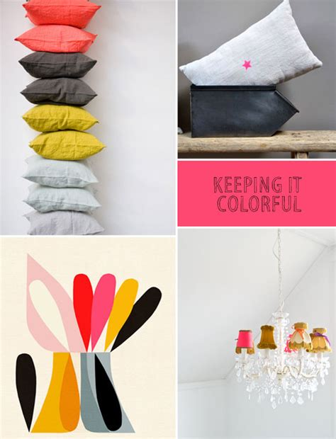 colorful home decor sfgirlbybay