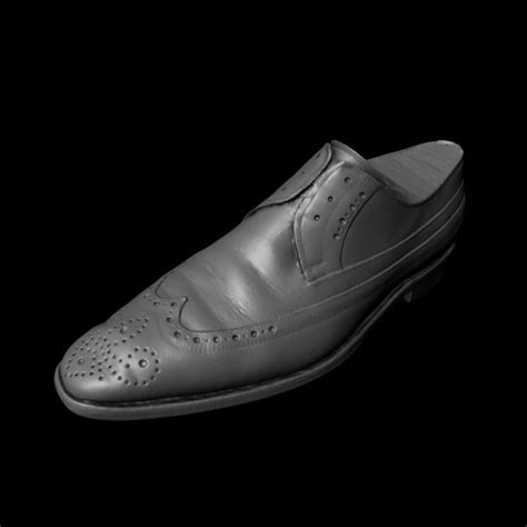 accurate scan dress shoe 3d model