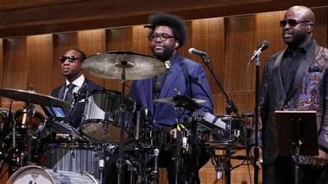 jimmy fallon house band questlove and the roots how a hip hop band conquered late night wbur news