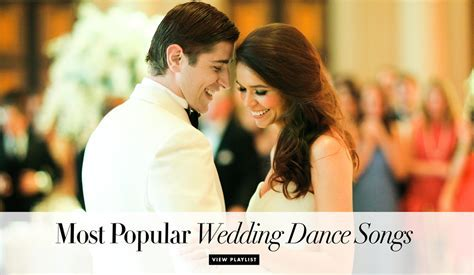 Wedding Song Ideas: Billboard's 100 Popular Wedding Dance