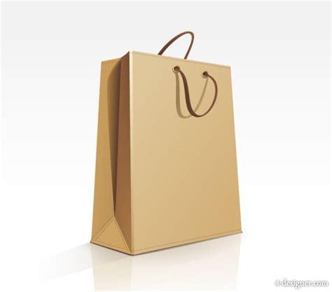 4 designer bags template 01 vector material