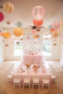 birthday themes with balloons carried away hot air balloon birthday party via kara s