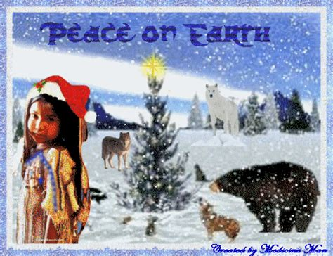 american indian christmas  tribal traditions history  holiday season feature  roy cook