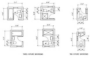 Small Bathroom Layout Dimensions Building Guidelines Drawings Section F Plumbing