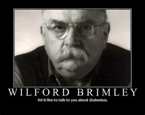 liberty diabetes spokesman stuff nerds like 4 wilford brimley eats people with