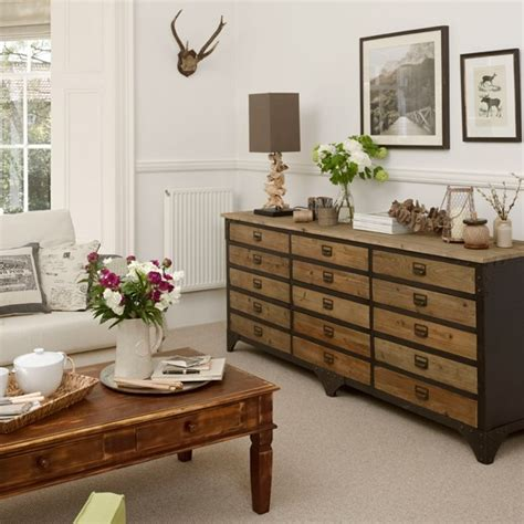 Living Room Chest Of Drawers | neutral living room with chest of drawers living room decorating ideas housetohome co uk