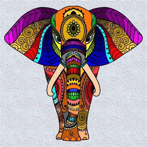 cuadros elefantes elefante elefantes elefantes mandalas y