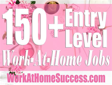 150 entry level work at home