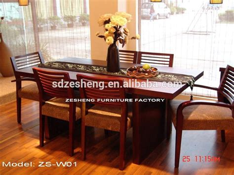 new style hotel dining room furniture in foshan l 818