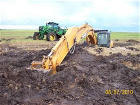 excavator sinking boat sw buggies