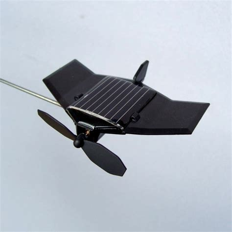 solar desk toys diy kits model plane solar powered toys