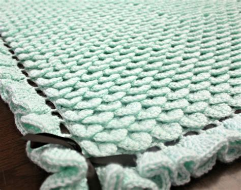 Unique Crochet Baby Blanket by 15 Patterns For Oh So Crocheted Baby Blankets