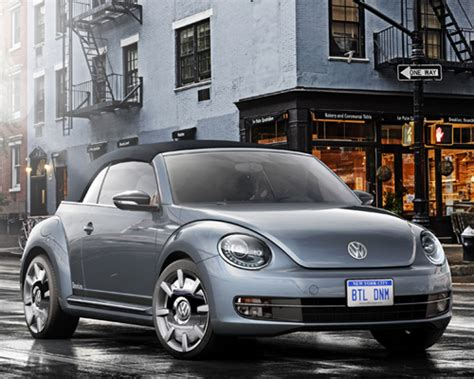 Vw Beetle New York Auto Show by Volkswagen Beetle Special Edition Concepts Shown At New