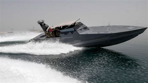 seal boat a high tech speedboat gives us navy seals a stealthy new