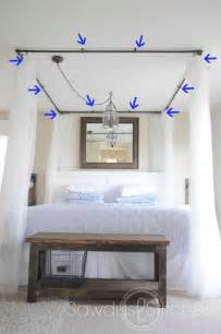 Diy Canopy Bed Frame 20 Magical Diy Bed Canopy Ideas Will Make You Sleep Architecture Design