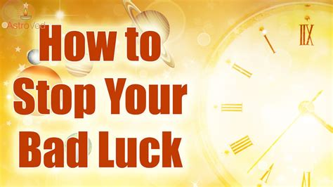 8 Ways To Stop Your Shopaholic Ways by How To Stop Bad Luck Simple Ways To Stop Bad Luck