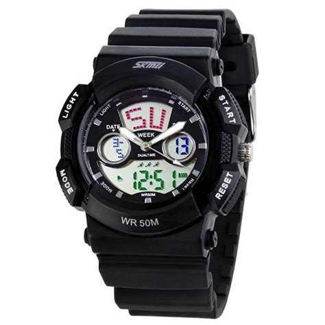 Skmei Original Casio Sport Led Water Resistant 50m Ad1065 skmei casio sport water resistant 50m ad0895 black jakartanotebook