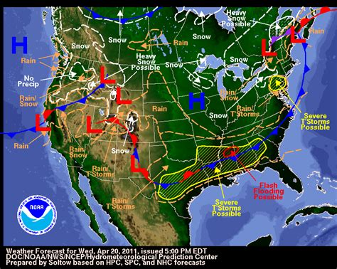 weather map of us with fronts climate montessori muddle