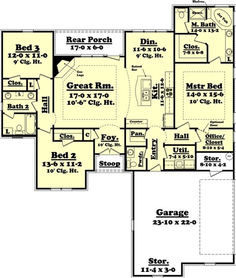 house plans 1800 sq ft ranch style house plan 3 beds 2 5 baths 1800 sq ft plan