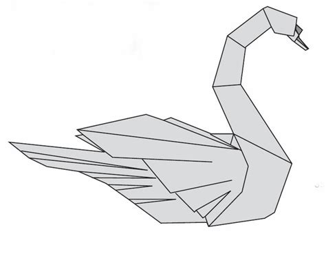 Origami Swan Diagram - 1000 ideas about origami swan on 3d origami