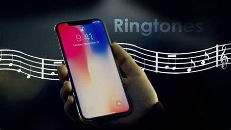 how to change set custom ringtone on iphone 8 8 plus and iphone x ios 11
