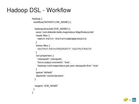 hadoop workflow hadoop at linkedin