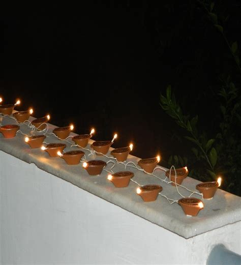 Tu Casa Diwali Electric Diya Lights By Tu Casa Online Electric Lights