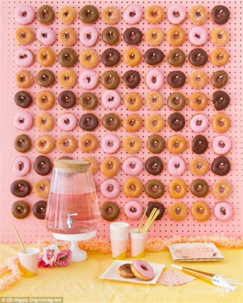 Use The Simpons Doughnut Maker To Cure Those Homer Like Cravings by Doughnut Walls Are The Next Big Wedding Reception Trend