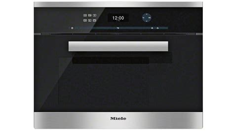 miele steam oven buy miele dg 6401 steam oven harvey norman au