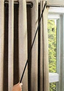 pull drapes 42 quot universal drapery pull rod ebay