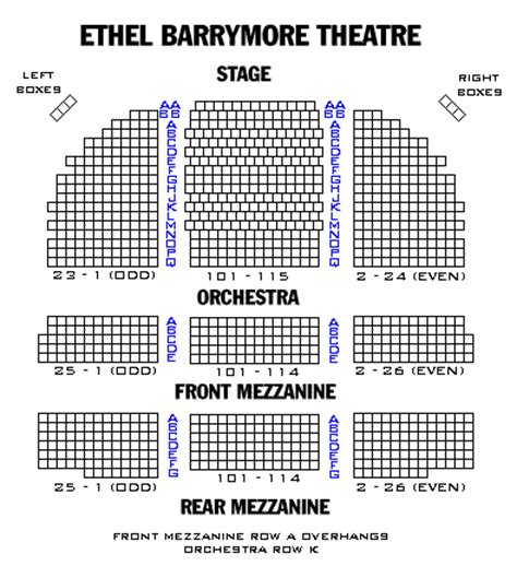 ethel barrymore theatre playbill