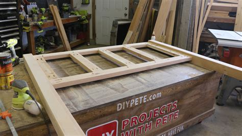 diy bed frame plans free diy bed frame plans how to make a bed frame with diy pete
