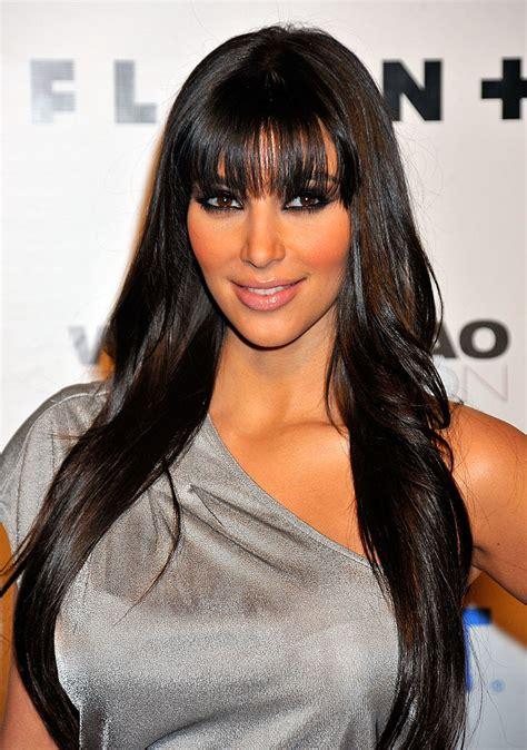 kim kardashiantop 10 best hairstyles ever 33 times kim kardashian s hair has changed over the last