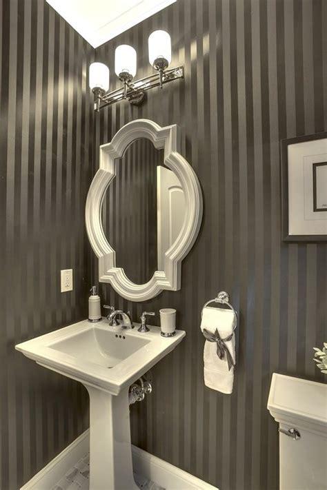 top  powder rooms  pedestal sinks  inspired