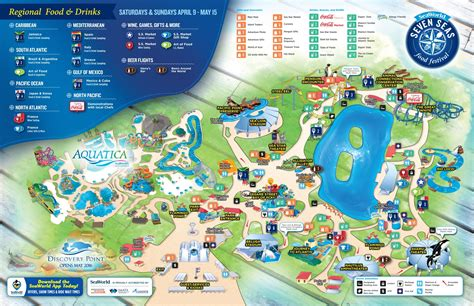 seaworld texas map seaworld san antonio thrillz the ultimate theme park review site
