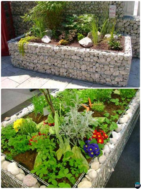 Raised Garden Border Ideas Creative Garden Bed Edging Ideas Projects
