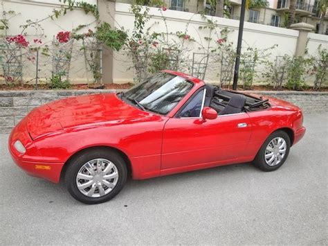 91 mazda miata convertible generation 1 car 5sp low