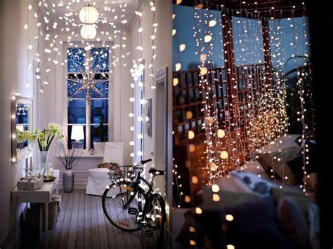 cortinas con luces 7 ideas de decoraci 243 n con luces de navidad en tu d 237 a a d 237 a
