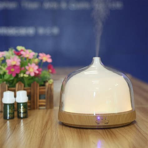 Ultrasonic Home Spa Humidifier 200ml ultrasonic essential diffuser aromatherapy mist