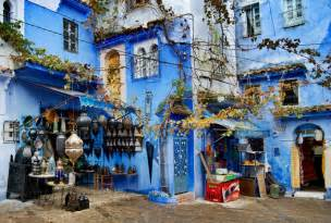 Art For Bathroom Walls Chefchaouen The Blue City Of Morocco