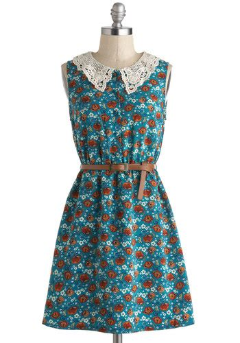 Modcloth Cqs New Vintage Obsession by The Way It Grows Dress Mod Retro Vintage Dresses