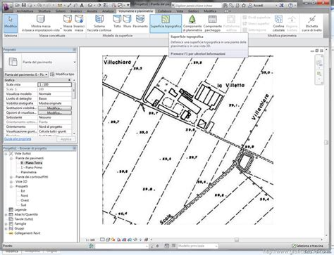 tutorial revit terreno modellare un terreno con revit con punti quotati