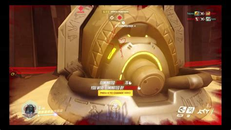 Nvidia Overwatch Giveaway - overwatch reaper abusing a bug in temple of anubis youtube linkis com