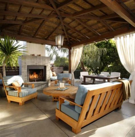 building outdoor living space idea home decorating ideas