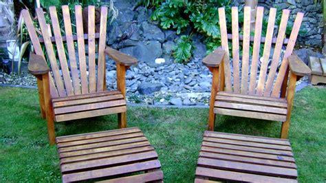 Weekend Craft: Macrocarpa wooden outdoor furniture NZ