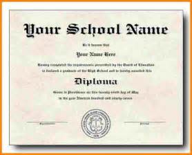 high school diploma templates 1 high school diploma template sle of invoice