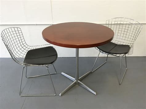 Conklin Office Furniture by 30 Quot Cherry Cafe Table T9553c Conklin Office