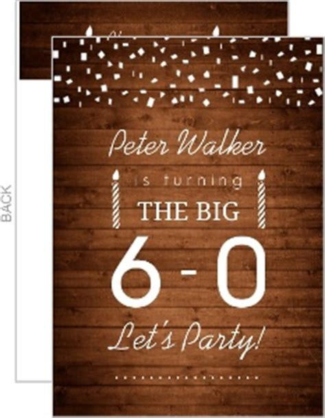 60th birthday invitations ideas 60th birthday invitations